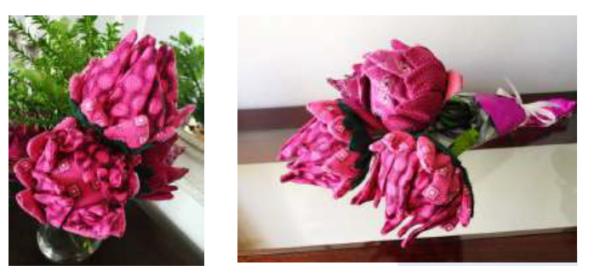 Shwe-shwe flowers
