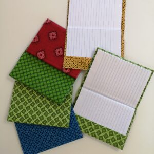 Shwe-shwe notebooks (removable covers)