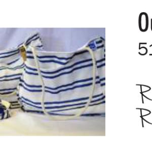 Outdoor fabric beach bag