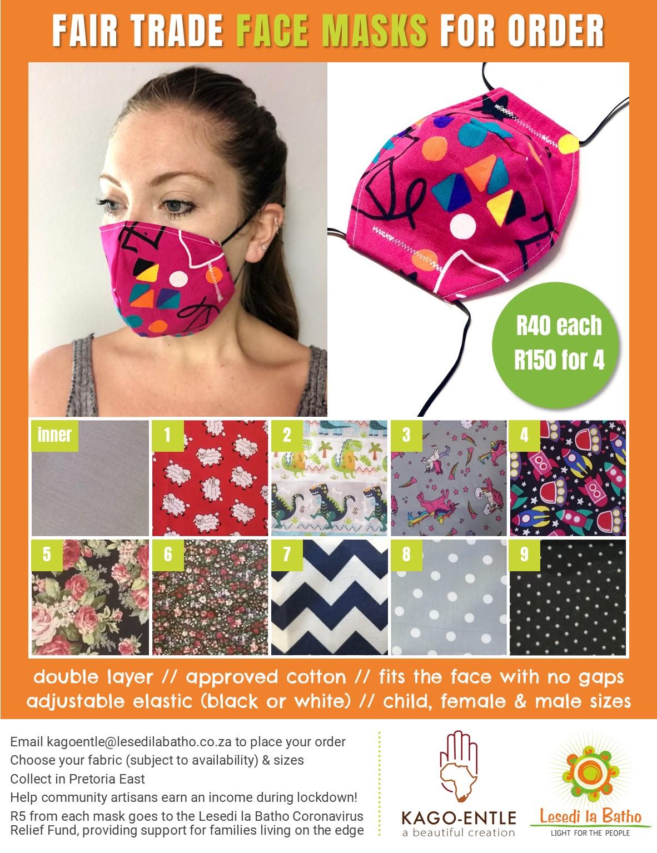 Fabric masks 8