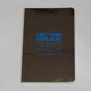 Gold A5 Ruler Notebook