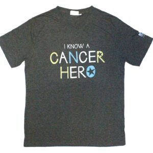 T-shirt: I know a Cancer Hero